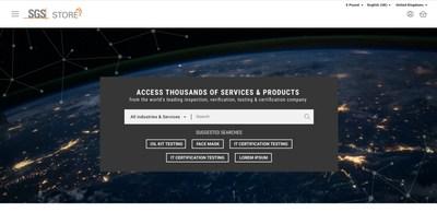 SGS Online store