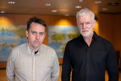 Bjarni Halldorsson and Kari Stefansson