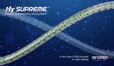 HT Supreme Healing-Targeted Drug Eluting Stent.
