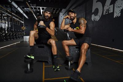 54D Head Coach Rodrigo De Ovando and Rodrigo Garduno, founder and creator of 54D, at their Coral Gables studio.