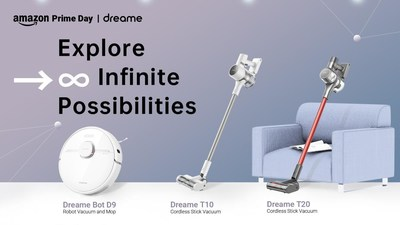 Exploring infinite possibilities, Dreame Technology aims to provide more intelligent home cleaning appliances for global consumers.