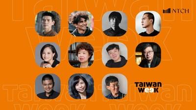 NTCH Taiwan Week Online 2021 artists