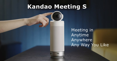 Kandao Meeting S, an Ultra-Wide 180° Standalone Video Conference Camera