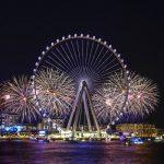 Ain Dubai ilumina el horizonte de Dubái con una impresionante celebración en el espectáculo inaugural